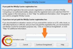 activation code for winzip