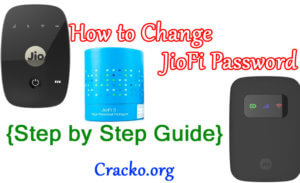 how to change jiofi password