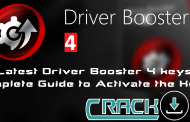 Driver Booster 4 Keys