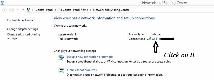 how to find network security key for wifi