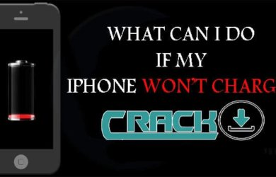 what can i do if my iphone wont charge