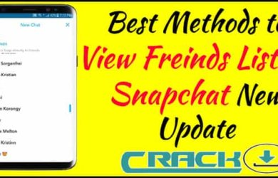 How to View Friends List on Snapchat New Update