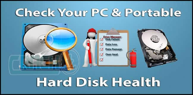 Check Health of Hard Disk