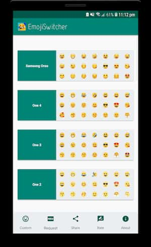 Emoji Switcher on android