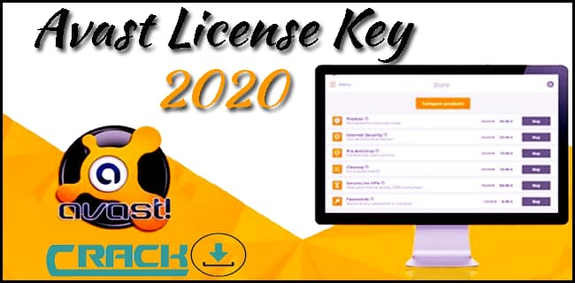 AVAST LICENSE KEY 2020